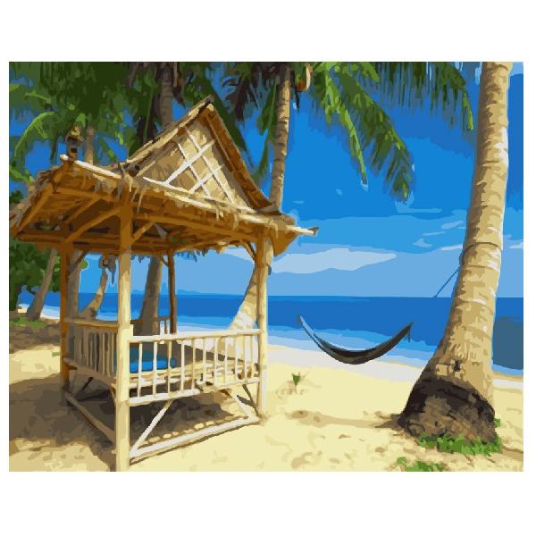 Картина по номерам Природа - Райский пляж