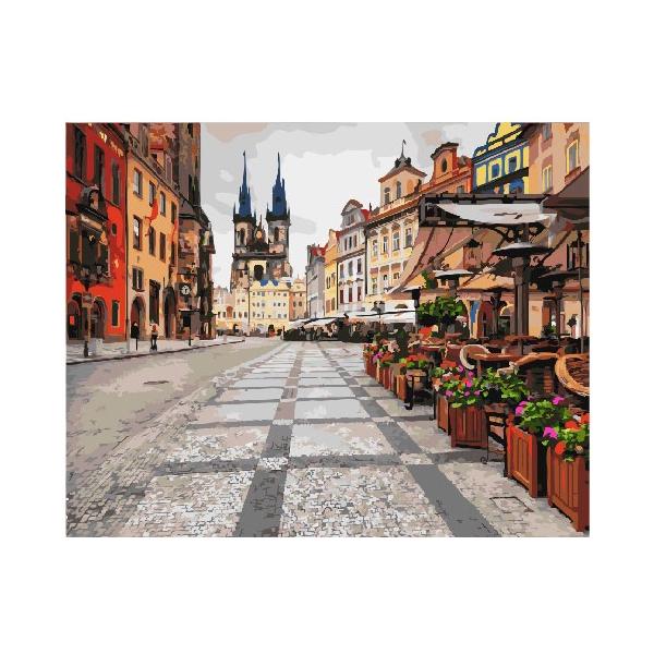 Картина по номерам Города - Празькі вулиці