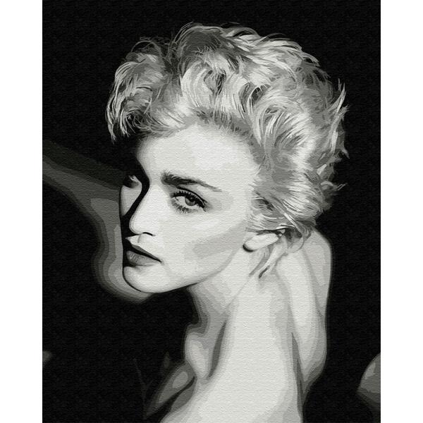 Картина по номерам Люди на картинах - Елегантність у чорно-білому