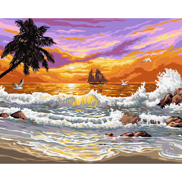 Картина по номерам Природа - Сказочное Бали