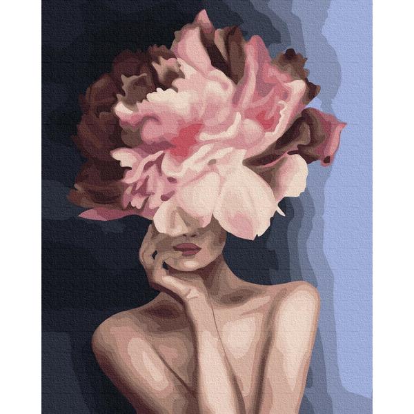 Картина по номерам Уникальные сюжеты - Изящный цветок