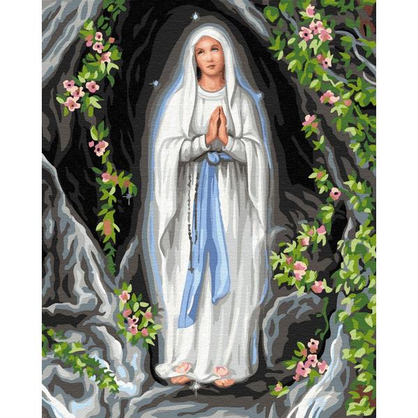 Картина по номерам Дети и ангелочки - Богородица