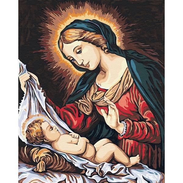 Картина по номерам Дети и ангелочки - Икона