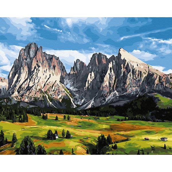 Картина по номерам Пейзажи - Горы