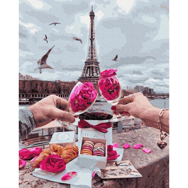 Картина по номерам Уникальные сюжеты - Пікнік у Парижі