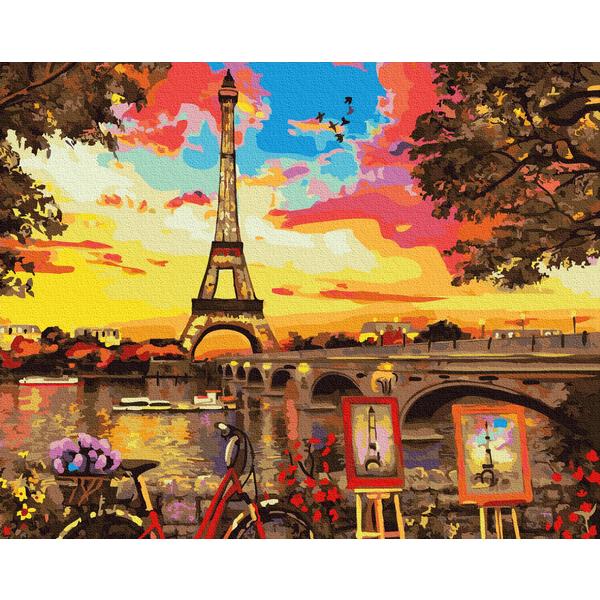 Картина по номерам Города - Живописний куточок в Парижі