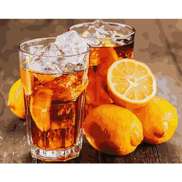 Картина по номерам Натюрморты - Охолоджуючий лимонад