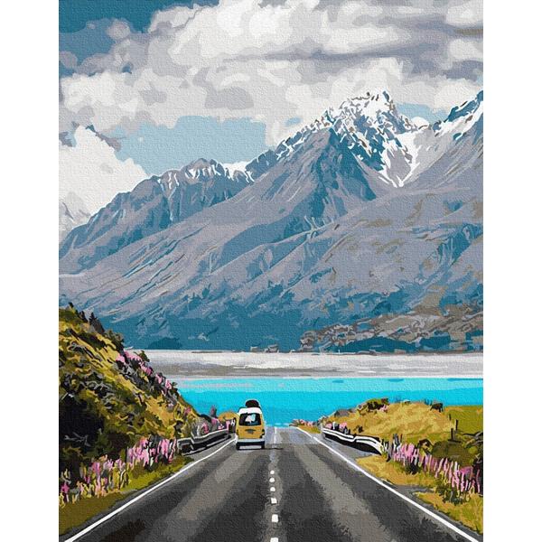 Картина по номерам Пейзажи - Швейцарські Альпи
