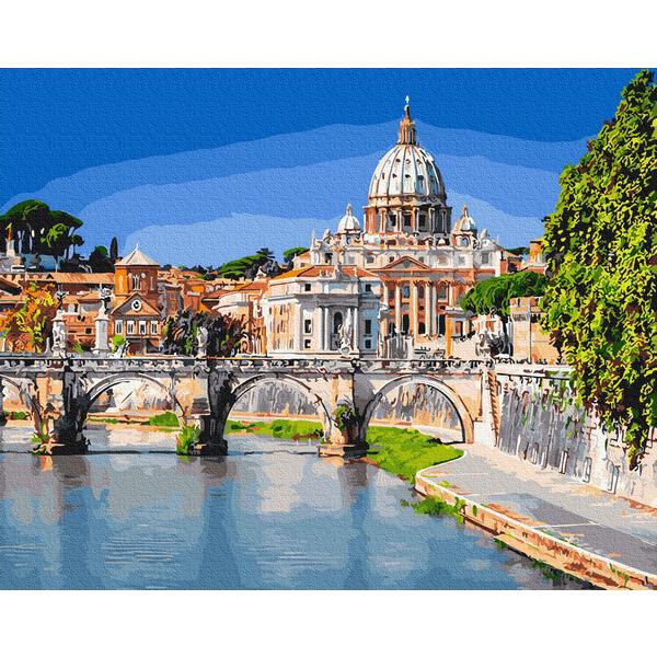 Картина по номерам Города - Базилика Святого Петра