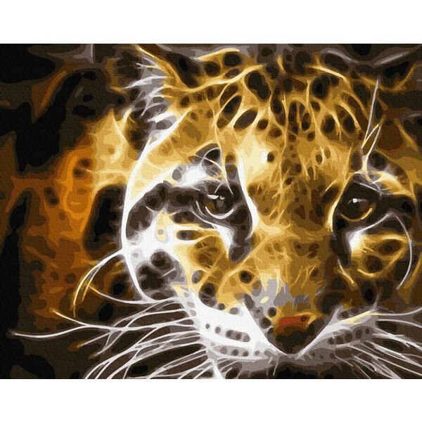 Картина по номерам Животные, птицы и рыбы - Хищник