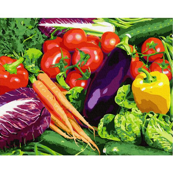 Картина по номерам Натюрморты - Овощи