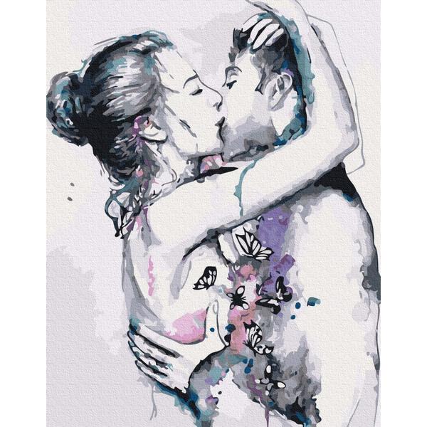 Картина по номерам Люди на картинах - ЛЮБОВЬ В ГРАФИКЕ