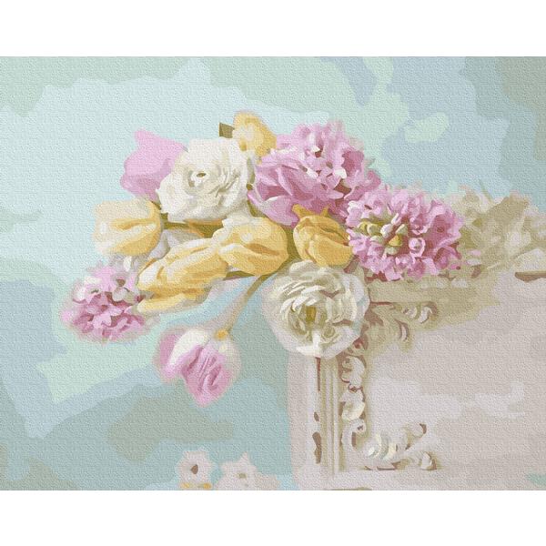 Картина по номерам Натюрморты - Цветочная нежность
