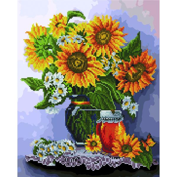 Алмазные картины-раскраски - Сонячний натюрморт