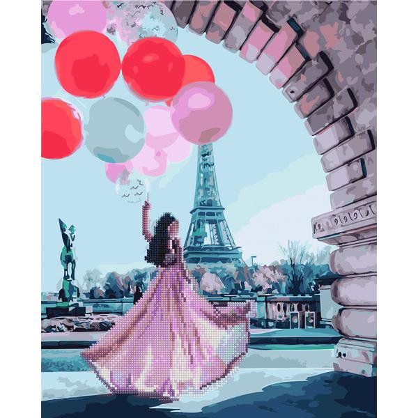 Алмазные картины-раскраски - Принцеса і кулі