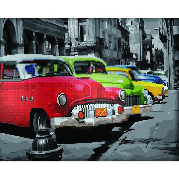 Алмазные картины-раскраски - Кубинське ретро