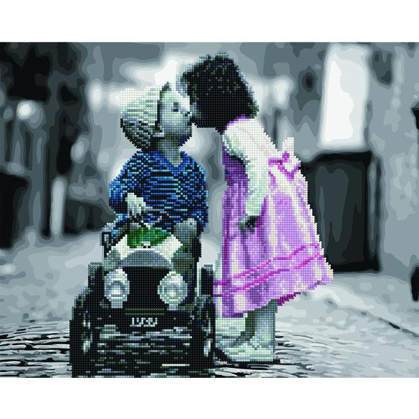 Алмазные картины-раскраски - Маленькая любовь