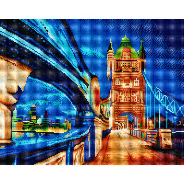 Алмазная мозаика 40х50 - Вечерний мост