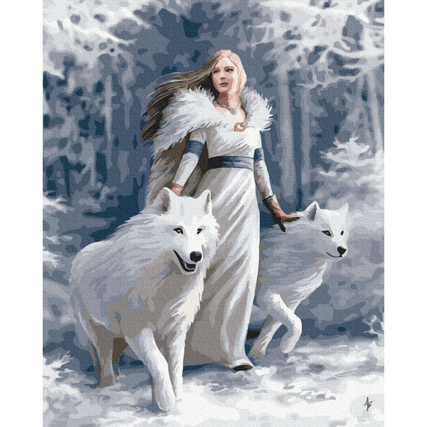 Картина по номерам Люди на картинах - Снігова королева