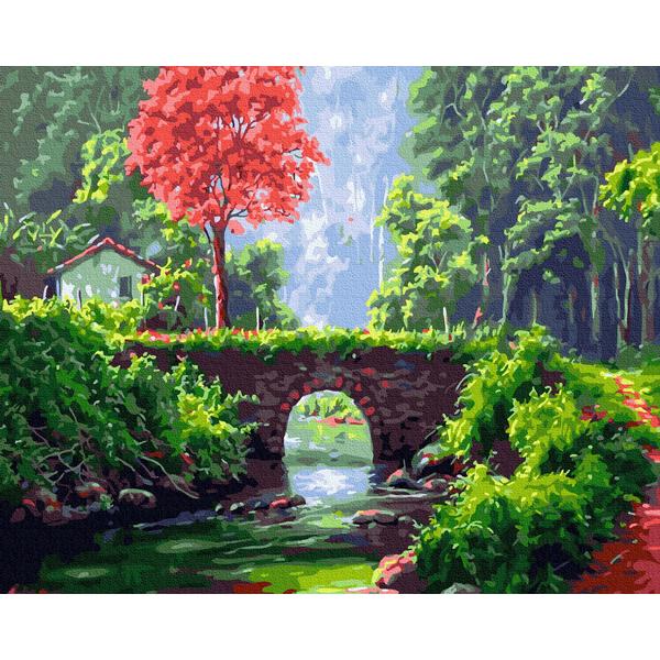 Картина по номерам Пейзажи - Казкова галявина