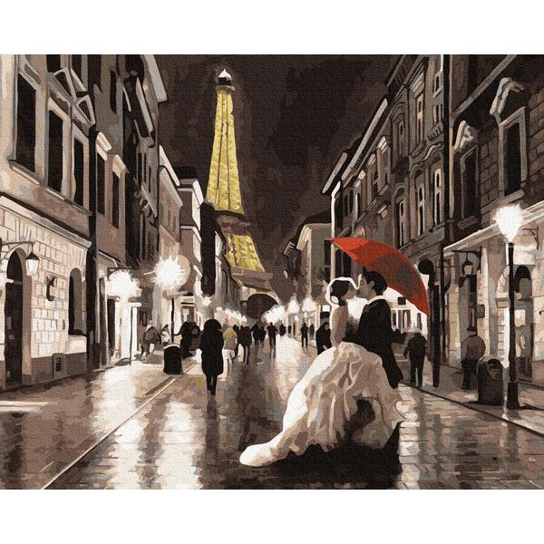 Картина по номерам Люди на картинах - Изысканный Париж