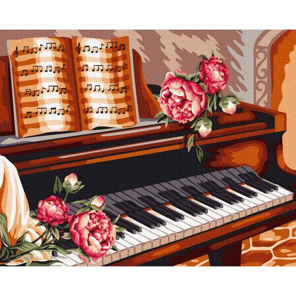 Картина по номерам Натюрморты - Квіти маестро