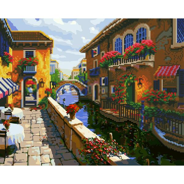 Алмазные картины-раскраски - Провінційне містечко