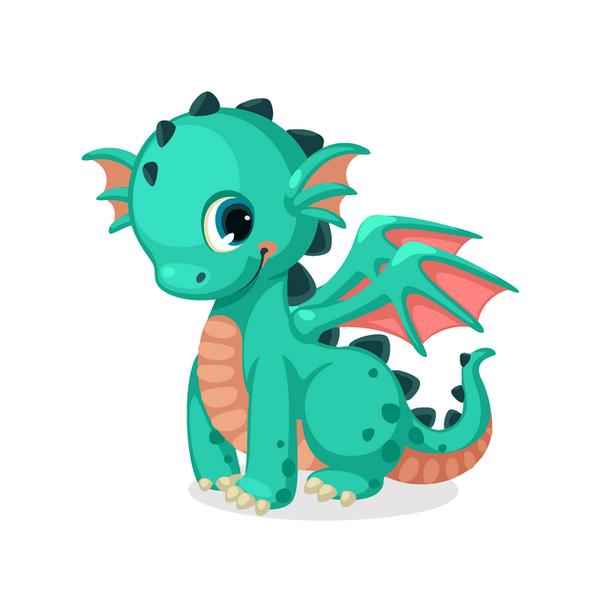 Картина по номерам KIDS - Милий дракоша