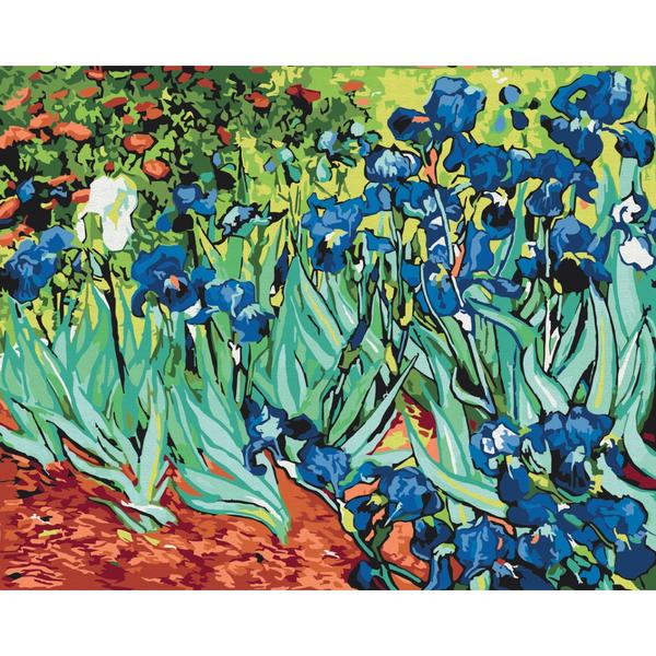 Картина по номерам Репродукции художников - Іриси. Ван Гог