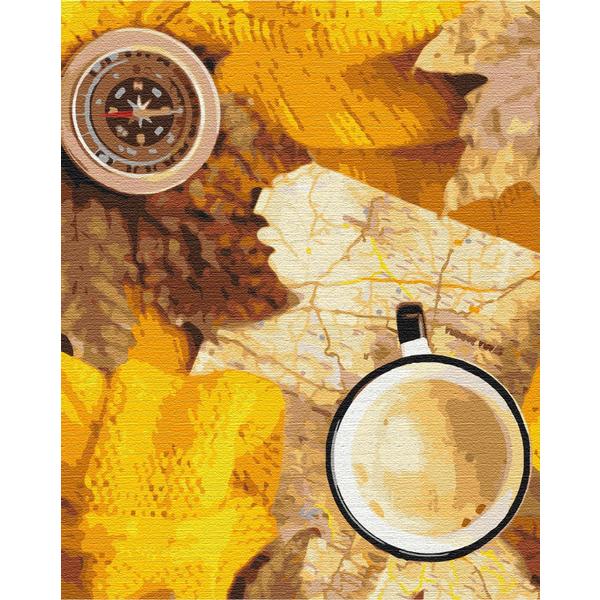 Картина по номерам Натюрморты - Флетлей осеннего путешественника