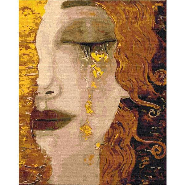 Картина по номерам Репродукции художников - Золоті сльози. Густав Клімт
