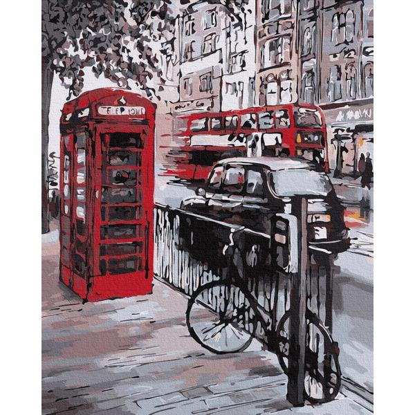 Картина по номерам Города - Фарби Лондона