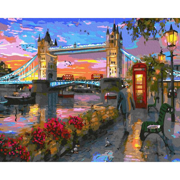 Картина по номерам Города - Осень в Лондоне