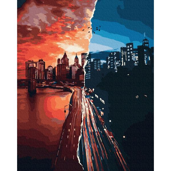 Картина по номерам Города - Яркий Нью-Йорк