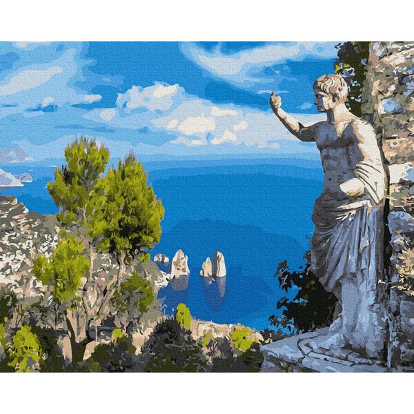 Картина по номерам Пейзажи - Античный взгляд на залив