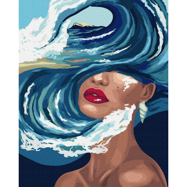 Картина по номерам Абстракции - Океан думок