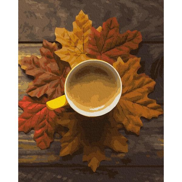 Картина по номерам Натюрморты - Осеннее какао