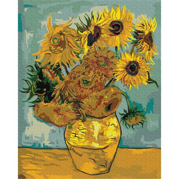 Картина по номерам Репродукции художников - Соняшники. Ван Гог
