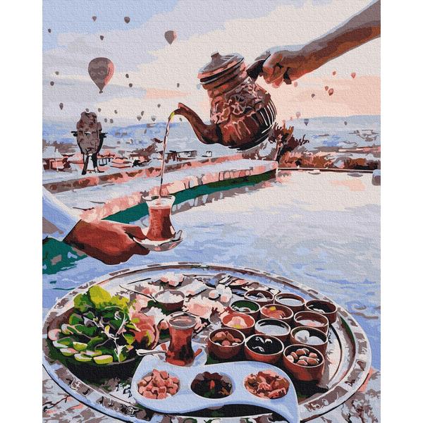 Картина по номерам Натюрморты - Турецьке чаювання