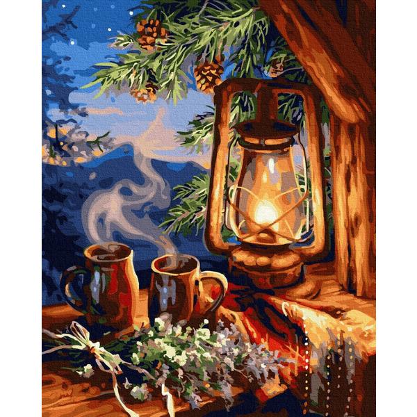 Картина по номерам Натюрморты - Сказочный фонарь