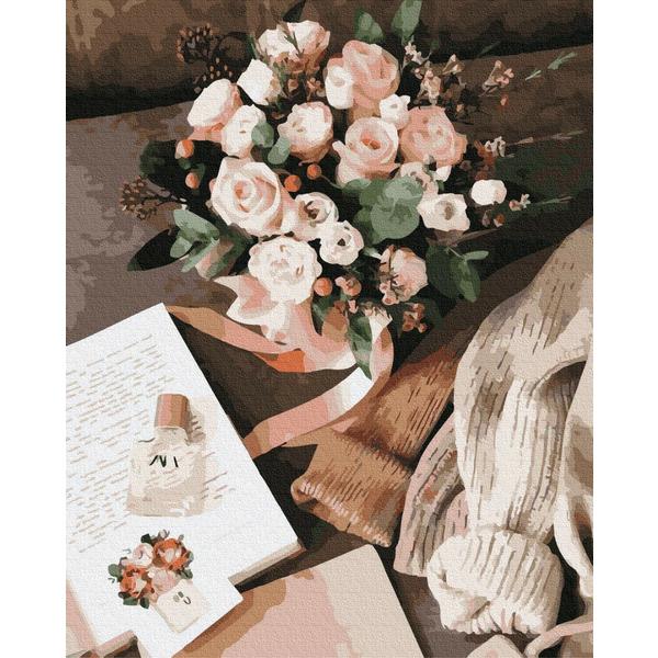 Картина по номерам Цветы - Аромат цветов