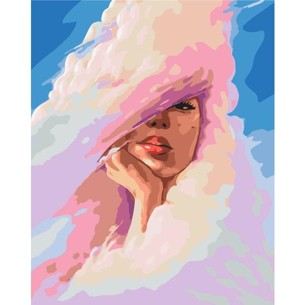 Картина по номерам Уникальные сюжеты - Облачная дама