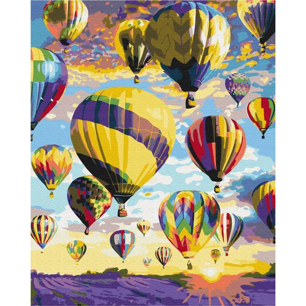 Картина по номерам Пейзажи - Мечты в небе
