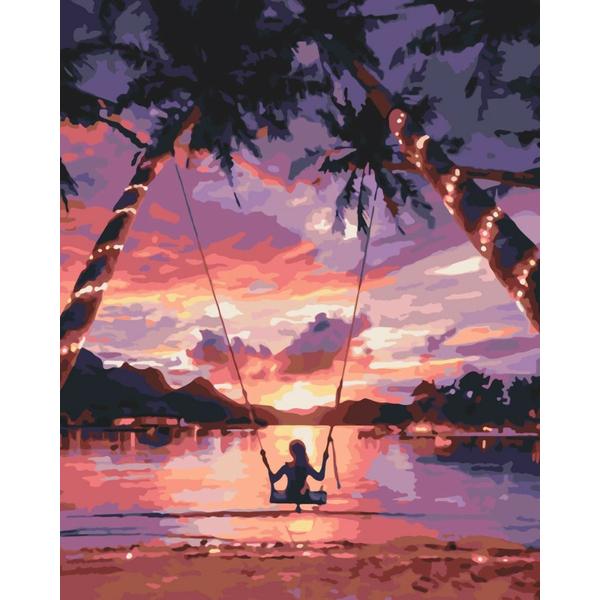 Картина по номерам Природа - Райська насолода