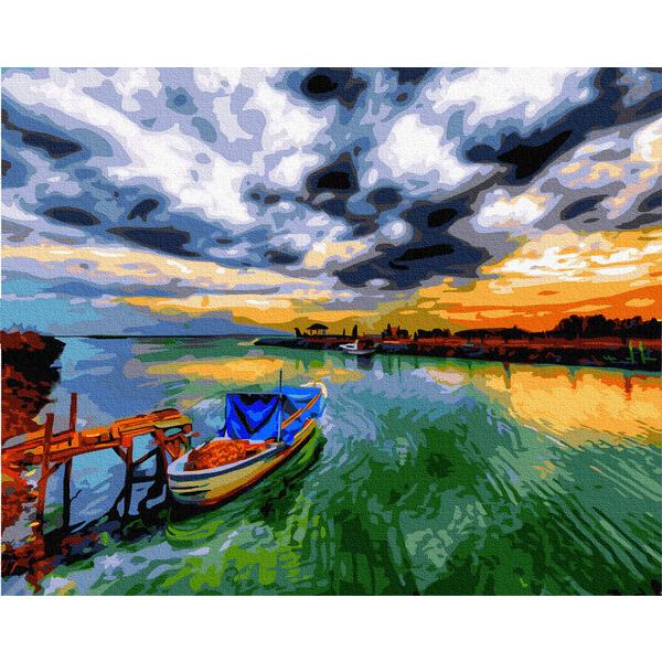 Картина по номерам Пейзажи - Фантастичне небо