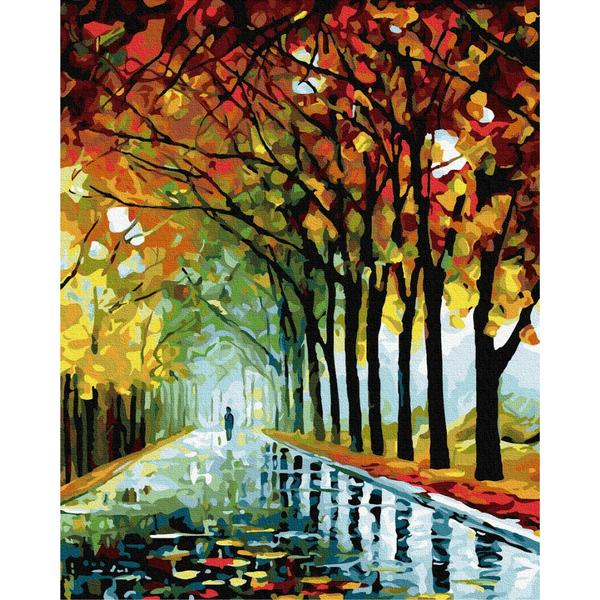 Картина по номерам Пейзажи - Живописная осень