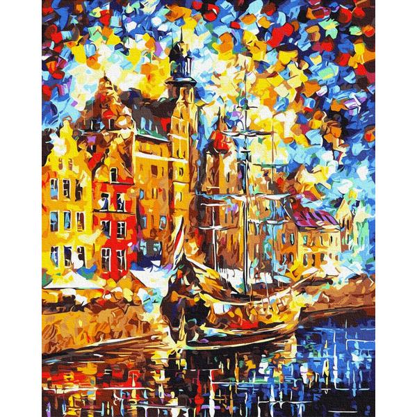 Картина по номерам Города - Венеція маслом
