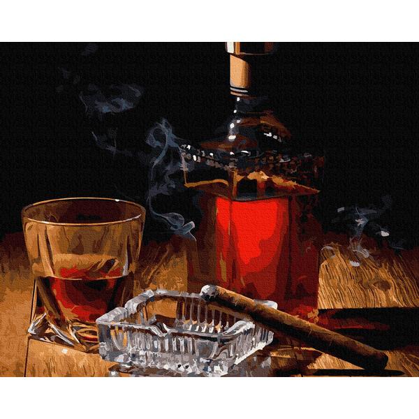 Картина по номерам Мужские - Виски для мужского вечера