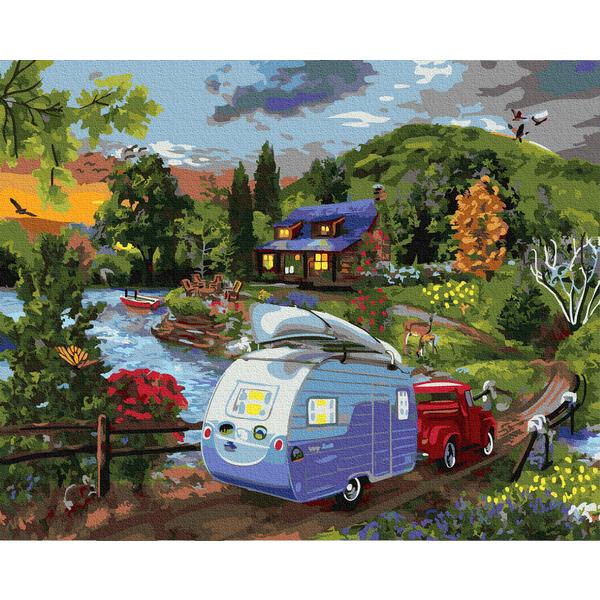 Картина по номерам Пейзажи - Повернення додому
