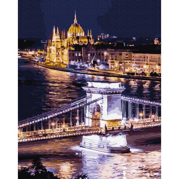 Картина по номерам Города - Ночной город